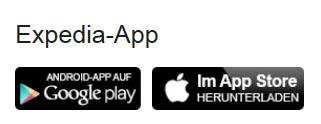 Expedia.de App