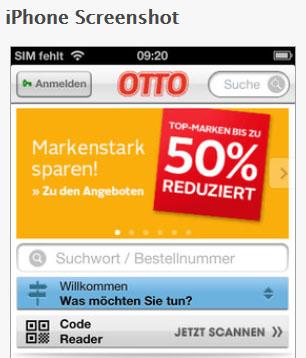 Otto.de App
