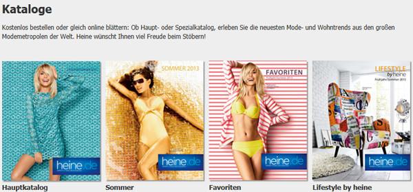 Heine.de Kataloge