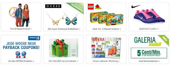 Galeria Kaufhof Auswahl